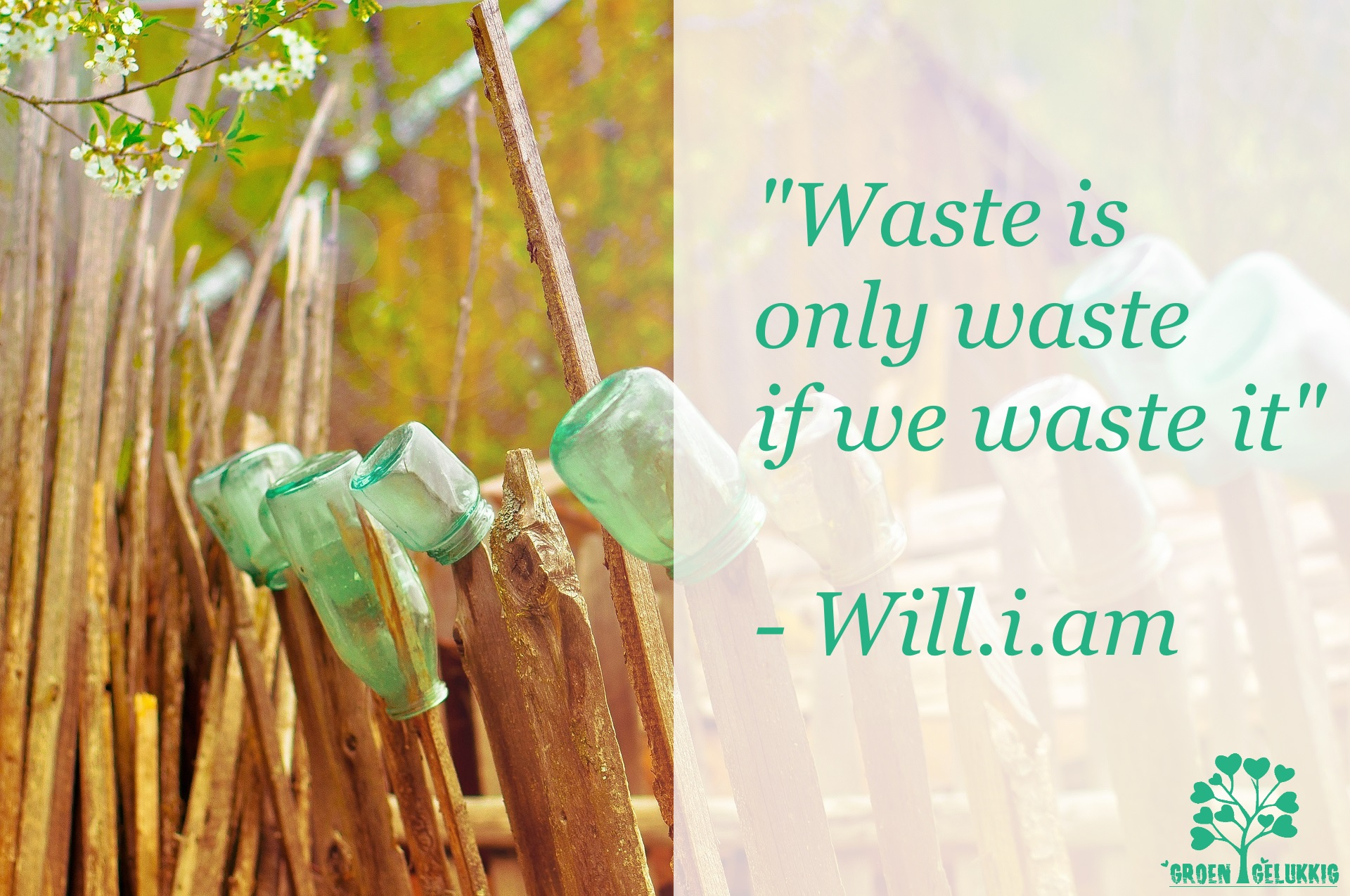 Waste is only waste if we waste it
